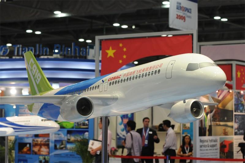 L'avionneur Commercial Aircraft Corp. of China (Comac), société... (Photo AFP)