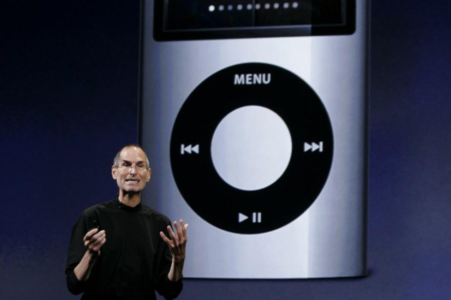 Le PDG d'Apple, Steve Jobs, a dévoilé hier... (Photo: AP)