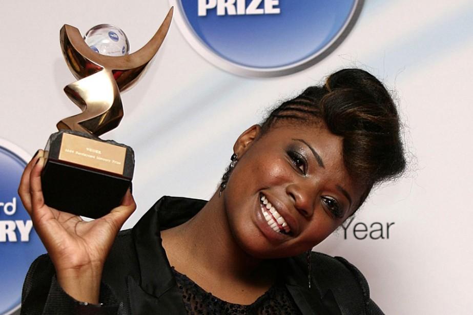 Speech Debelle a remporté le Mercury Prize.... (Photo: AP)