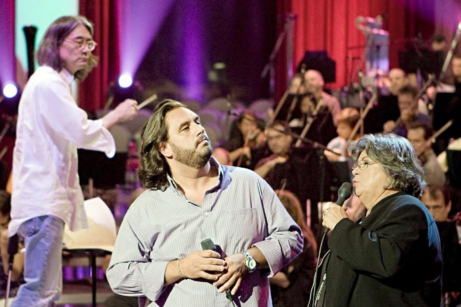 Répétition du concert de l'OSM avec Marc Hervieux... (Photo: Ivanoh Demers, La Presse)