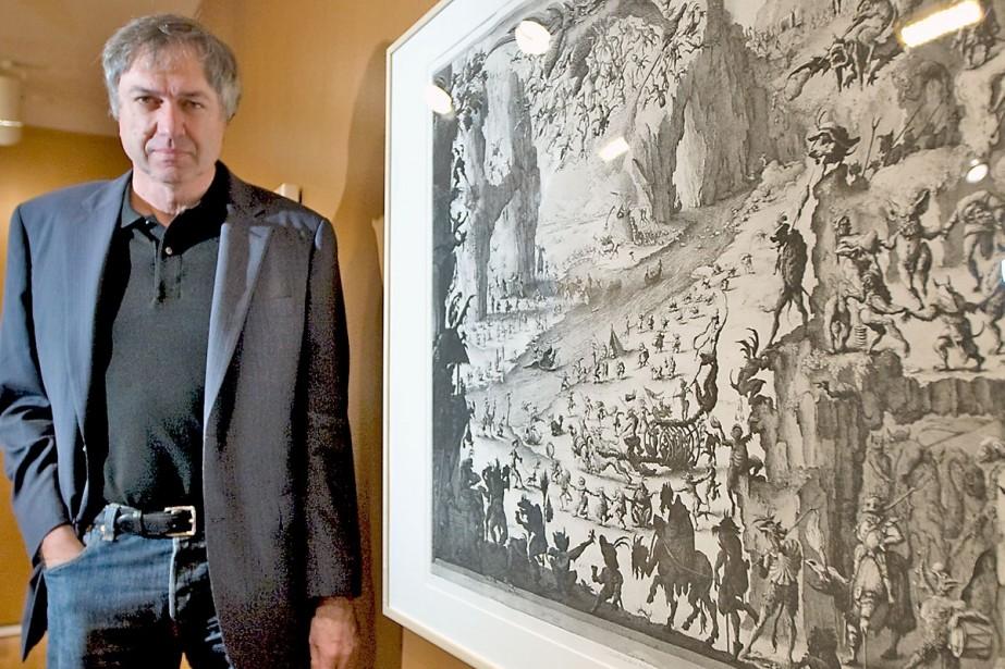 Érik Desmazières en est à sa troisième visite... (Photo: Alain Roberge, La Presse)