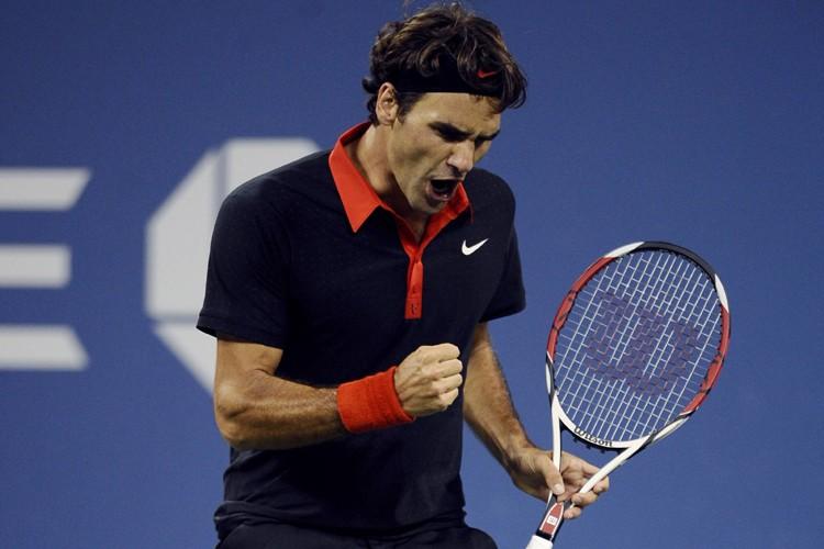 Roger Federer a vaincu Robin Soderling 6-0, 6-3,... (Photo: Reuters)