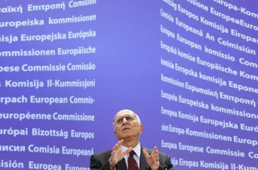 Le commissaire à l'Environnement Stavros Dimas s'est inquiété... (Photo Reuters)