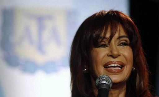 Cristina Kirchner.... (Photo AFP)
