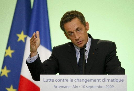 Le président français, Nicolas Sarkozy.... (Photo Reuters)