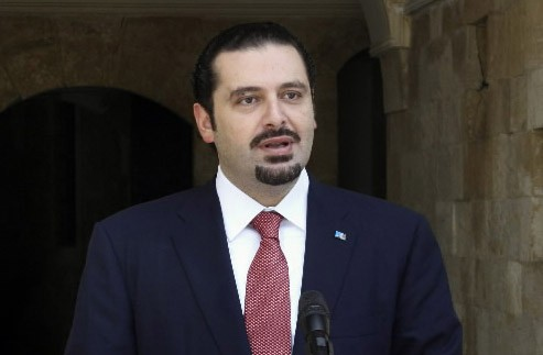 Saad Hariri.... (Photo AP)