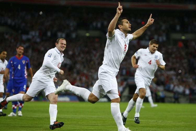 L'Angleterre a écrasé la Croatie 5-1 dans un... (Photo: AFP)
