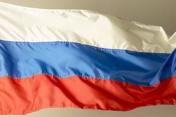 Le drapeau de la Russie... (Photo: Photothèque La Presse)