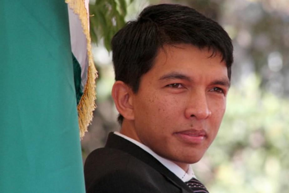L'homme fort de Madagascar, Andry Rajoelina.... (Photo Reuters)
