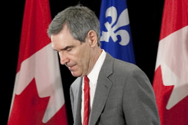 Le chef du PLC a condamné à son... (Photo: Alain Roberge, La Presse)