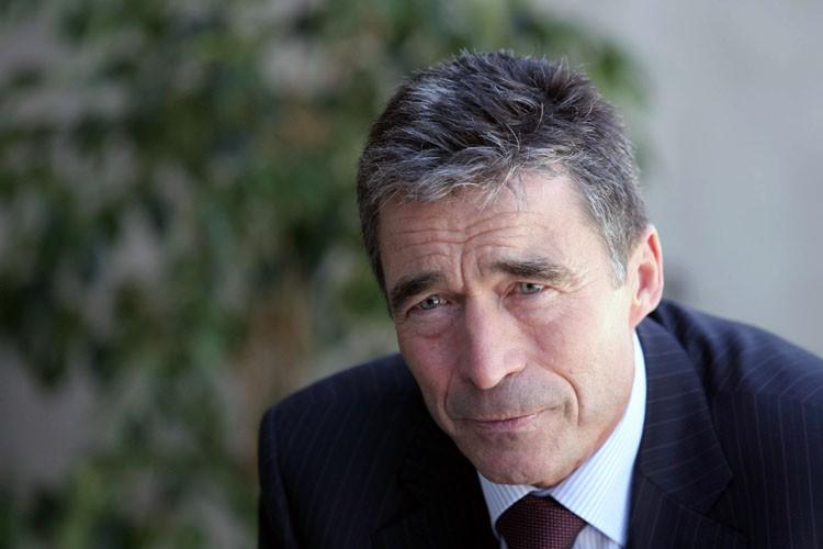 Anders Fogh Rasmussen... (Photo: AFP)