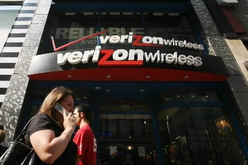L'opérateur téléphonique américain Verizon a publié vendredi un... (Photo: AP)