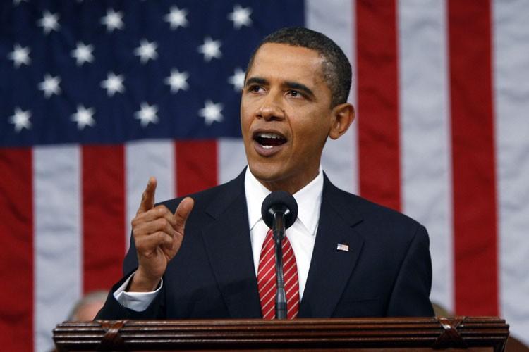 Le président américain Barack Obama prononcera lundi un... (Photo: Reuters)