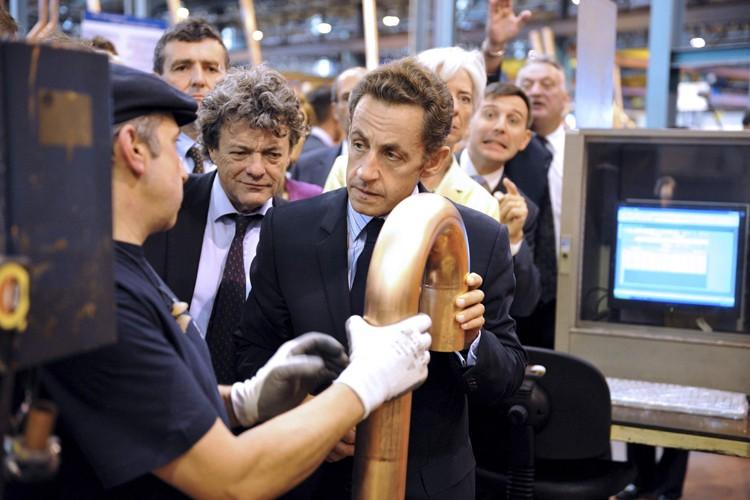 Le chef d'État français Nicolas Sarkozy a précisé... (Photo: Reuters)