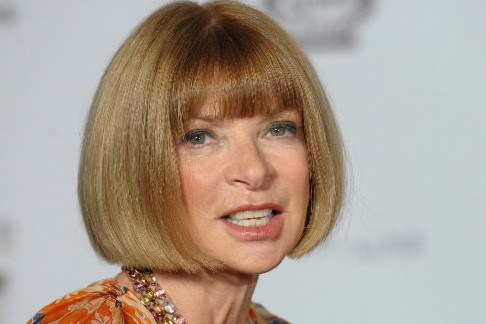 La rédactrice en chef du Vogue américain, Anna... (Photo: AP)