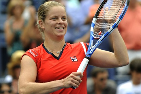 Kim Clijsters paraît plus forte qu'elle ne l'a... (Photo: AFP)