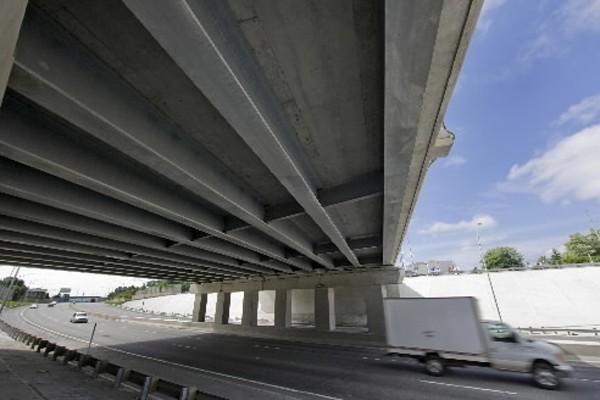 Le  viaduc de la  Concorde de... (Photo: David Boily, La Presse)