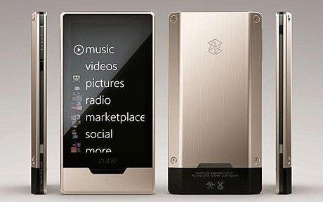 Le Zune HD... (Photo fournie par Microsoft)