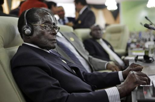 Robert Mugabe.... (Photo AP)