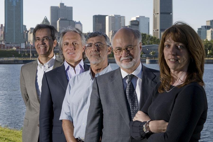 Le jury du concours Rêvez  Montréal est... (Photo: Alain Roberge, La Presse)