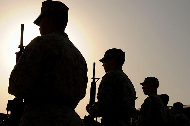 Des soldats américains postés à Kaboul ont observé... (Photo: AFP)