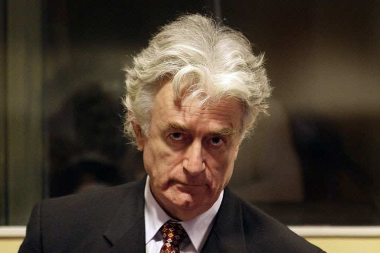 Radovan Karadzic... (Photo: AP)