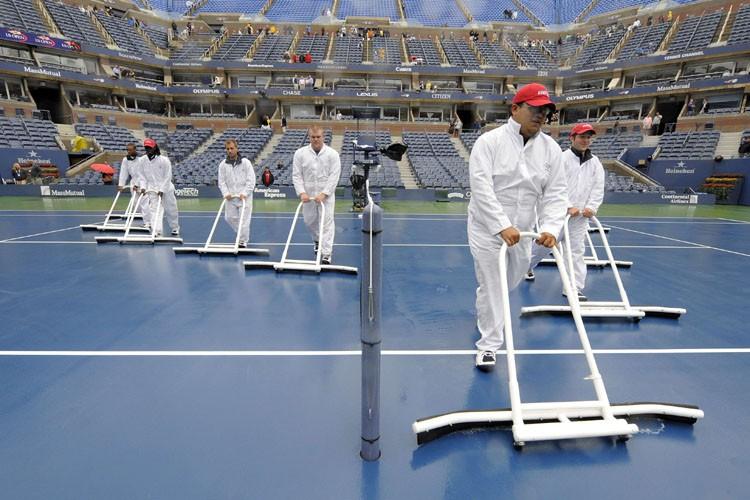La finale du tableau masculin de l'US Open a été reportée de... (Photo: AFP)