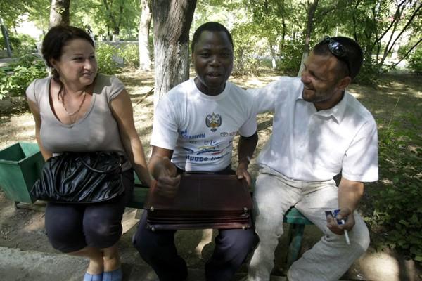 Le racisme n'a pas empêché Joaquim Crima, 37... (Photo: AP)