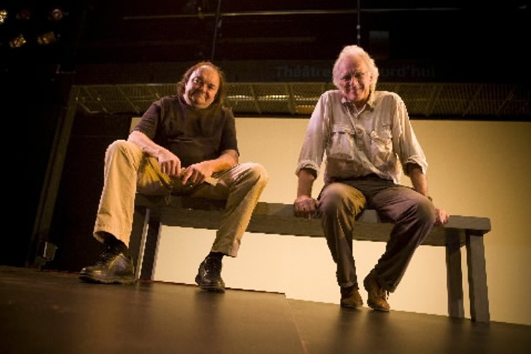 Benoît Dagenais et Paul Savoie.... (Photo: André Pichette, La Presse)