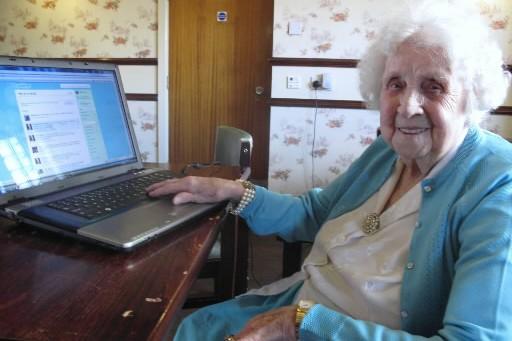 À 104 ans, Ivy Bean ets la plus... (Photo Mali Ilse Paquin, collaboration spéciale)