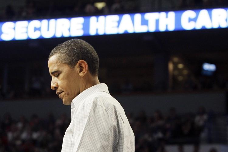 Barack Obama a défendu son plan de réforme... (Photo: AP)