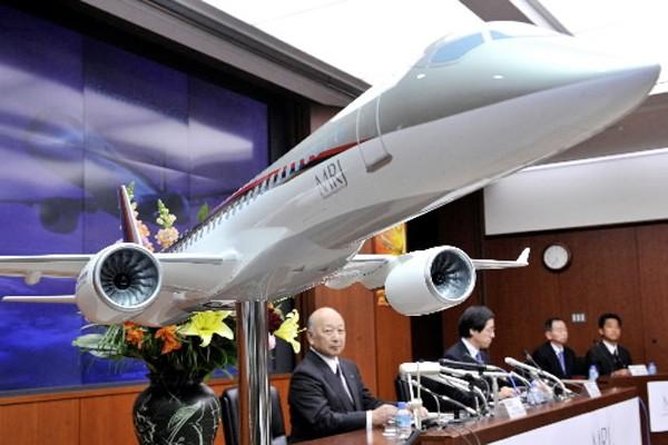 Le président de Mitsubishi Heavy Industries, Kazuo Tsukuda.... (Photo: AFP)