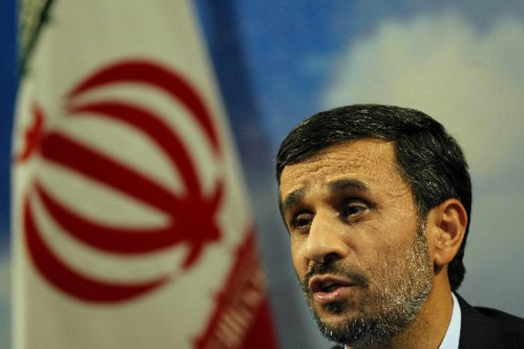 Mahmoud Ahmadinejad... (Photo: AFP)