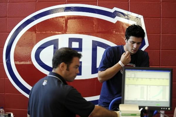 Le gardien de buts Carey Price s'est fait... (Photo: Bernard Brault, La Presse)