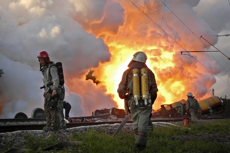 Trente-sept personnes ont péri dimanche au Kazakhstan,... (Photo: Archives AP)