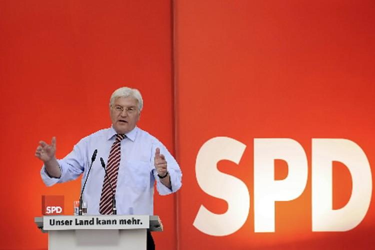 Le ministre allemand des Affaires étrangères, Frank-Walter Steinmeier.... (Photo: AFP)