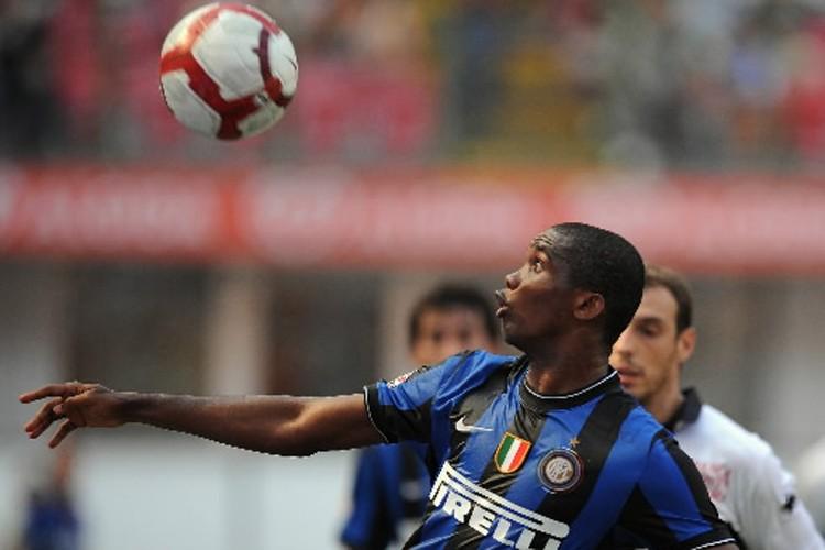 Samuel Eto'o a marqué pour les siens.... (Photo: AFP)