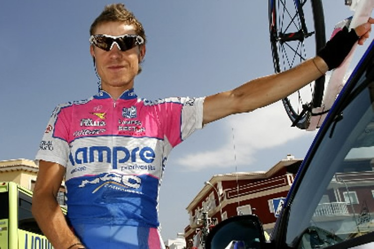 L'Italien Damiano Cunego.... (Photo: AFP)