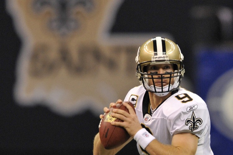 Drew Brees... (Photo: AP)