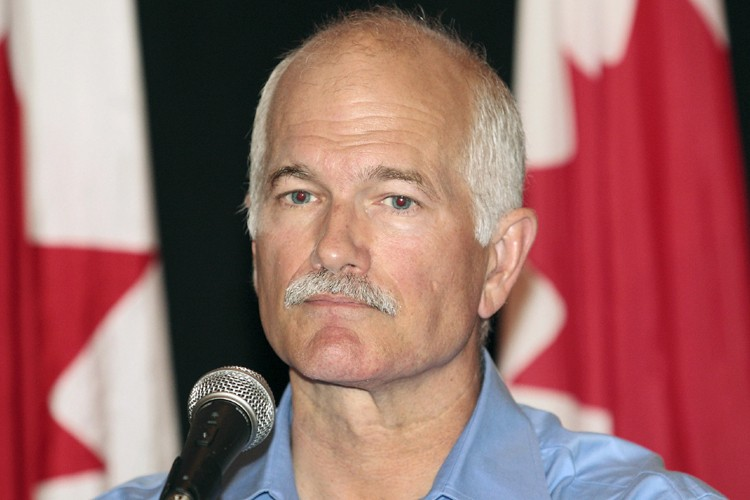 Le chef du Nouveau Parti démocratique, Jack Layton,... (Photo: Reuters)