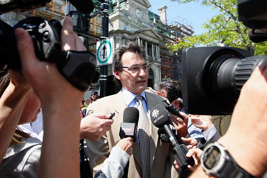 Le chef de Projet Montréal, Richard Bergeron, assure... (Photo: Martin Chamberland, La Presse)