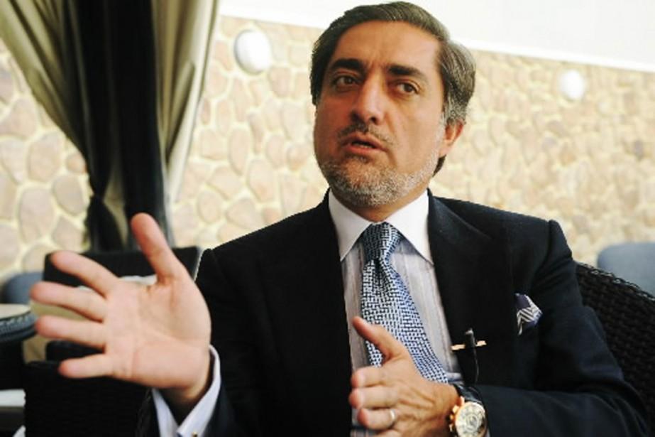 Abdullah Abdullah réclame la tenue d'un second tour... (Photo AFP)