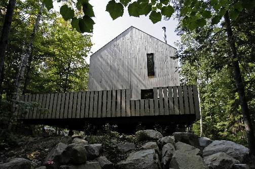 Oser le bois sans protection lucie lavigne maisons for Maison sans toi