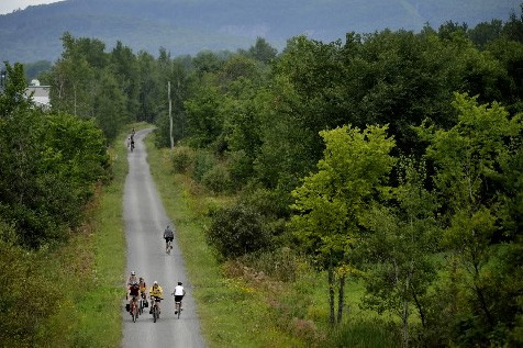 Avec ses 200 km de voie cyclable en... (Photo: Bernard brault, La Presse)