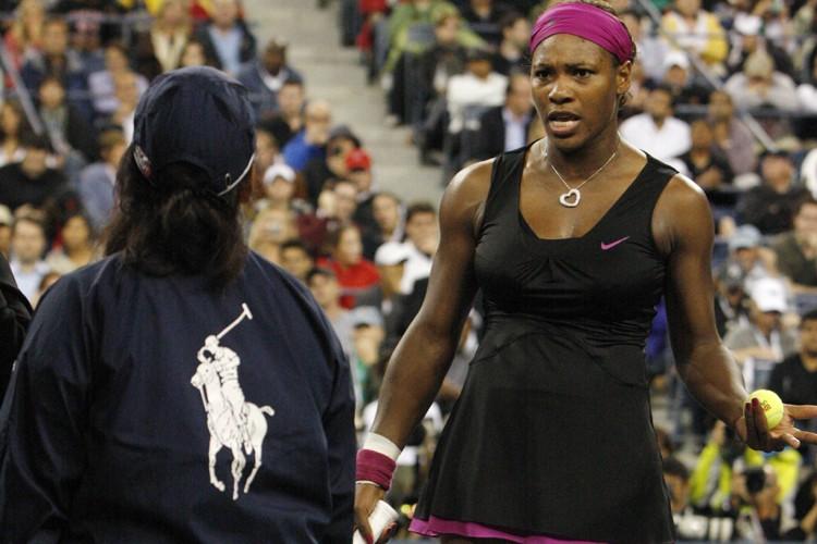 Samedi en demi-finale, Serena Williams a enguirlandé une... (Photo: Reuters)