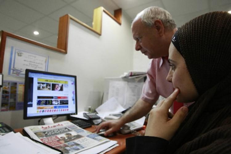 Le rédacteur en chef et propriétaire du site... (Photo: AFP)