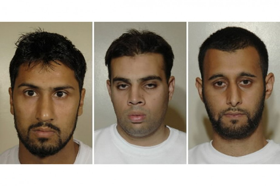 Abdulla Ahmed Ali, Assad Sarwar et Tanvir Hussain.... (Photo AP)