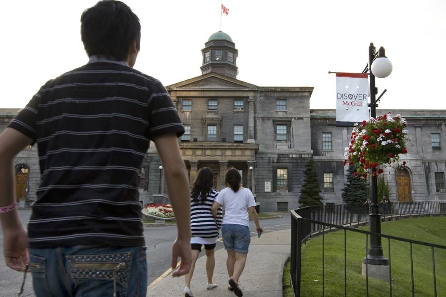 L'Université McGill... (Photo: Robert Skinner, Archives La Presse)