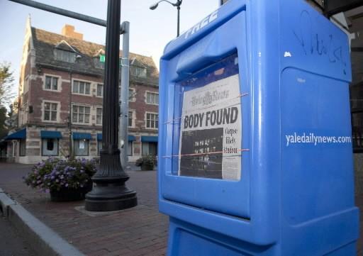 Le corps pourrait être celui d'une étudiante en... (Photo AP)