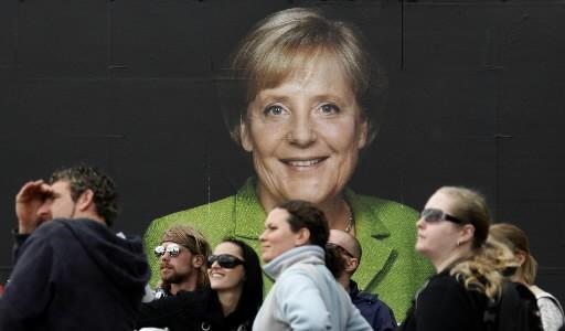 Les rues de Berlin sont placardées d'affiches des... (Photo Reuters)